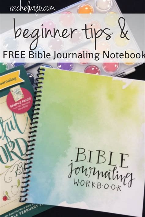 bible study journal scripture christian personal journaling notebook christian journaling daily volume 1 books beginner tips and free bible journaling workbook