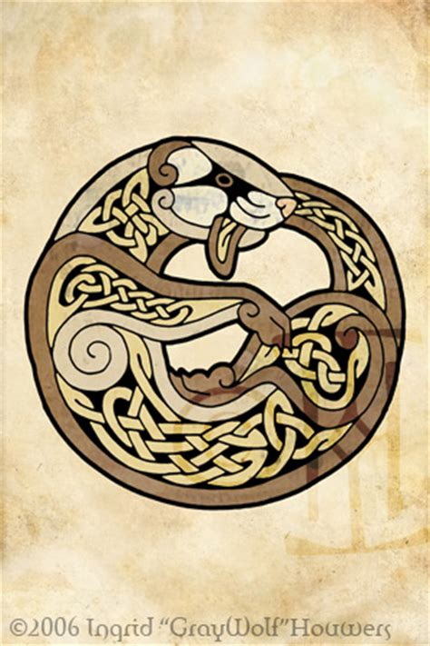 celtic ferret by illahie on deviantart
