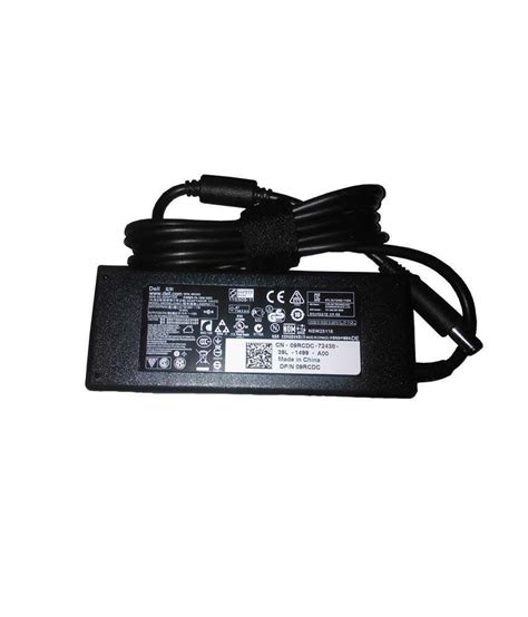 Adaptor Charger Original Dell 19 5v 4 62a Slim Dell 6400 4300 gadgets dell latitude e6430 laptop 19 5v 4 62a 90w original adapter charger without power
