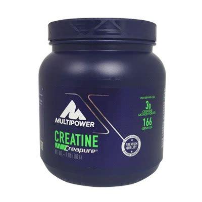 l creatine powder multipower creatine powder 500 gr supplementler
