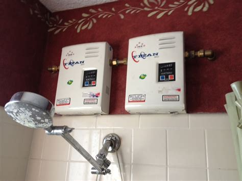 small on demand water heater point of use electric tankless water heaters