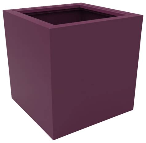 Purple Planter by Large Athens Planter Purple Modern Outdoor Pots And