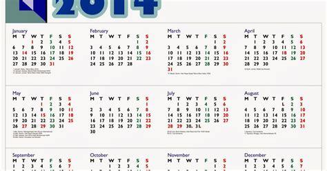 tutorial blogger lengkap 2014 kalender 2014 lengkap dengan hari libur nasional dan