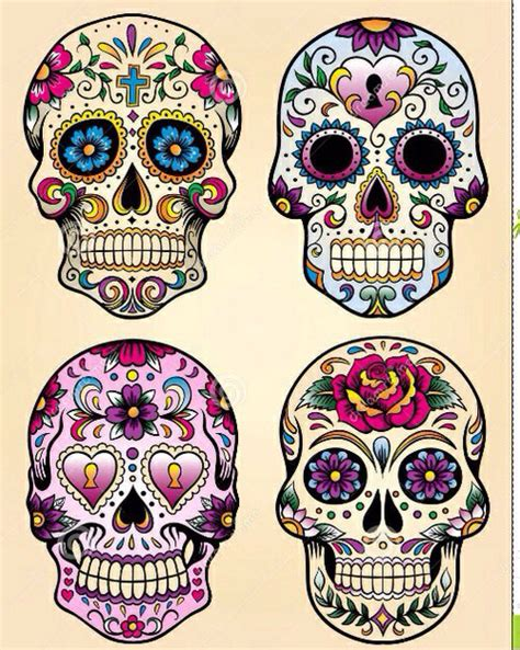 day of the dead colors add a caption image 2293326 by maria d on favim