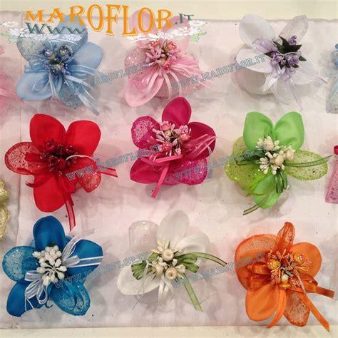 confetti fiore bomboniere sacchettino portaconfetti glitter fiore in