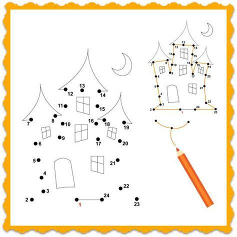 printable halloween games for kindergarten 14 best number dot to dot images on pinterest color by