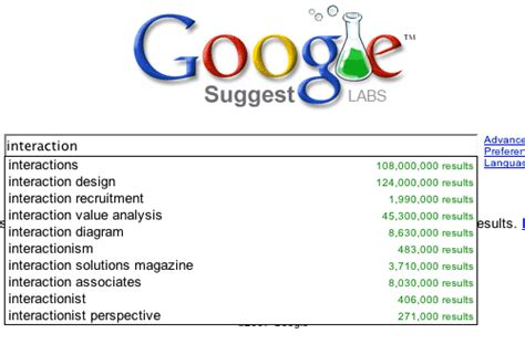 design google autocomplete autocomplete interaction design pattern library welie com