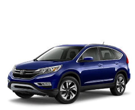 what are the color options for the 2016 honda cr v?