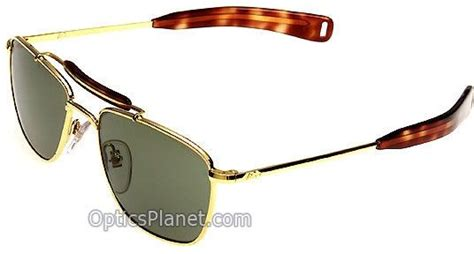 Sunglass Ao American Optical Skymaster Pilot Gold G Diskon style ao original pilot temples