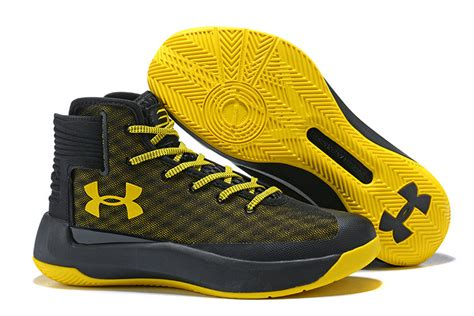 black yellow basketball shoes ua curry 3 5 black yellow basketball shoes lebron14shop