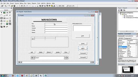 tutorial visual basic microsoft tutorial membuat database visual basic 6 0 youtube