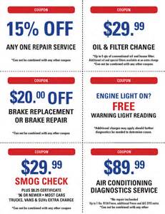 Automotive Service Deals Valley Auto Repair And Smog Check Hemet Ca
