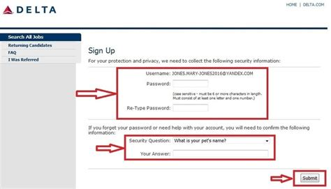 How To Answer On A Application How To Apply For Delta Airlines At Delta