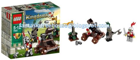 Lego Castle 7950 Knights Showdown fantasia treehouse