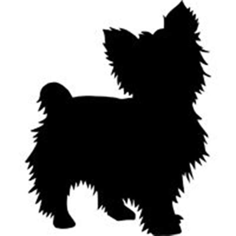 yorkie silhouette decals dogs on silhouette silhouette and vector vector