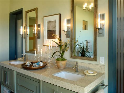 hgtv master bathroom designs vanity mirrors custom crafted by carpenter david brown out