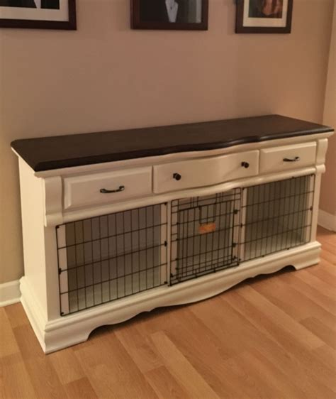 dog crate made out of dresser an old dresser i converted to dog crate pinteres