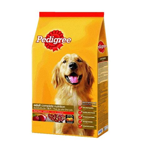 Pedigree Beef 1 5kg pedigree beef vegetable flavor 1 5kg vị b 242 rau