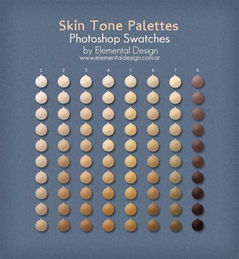 skin tone palettes by ed elementaldesign deviantart tutorial portraits