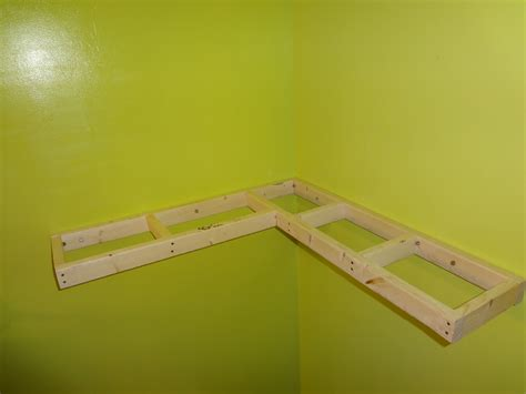 white floating corner shelf diy projects