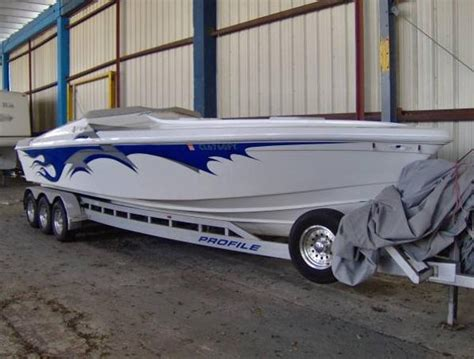 high performance boats as 2002 used profile high performance boat for sale 72 000