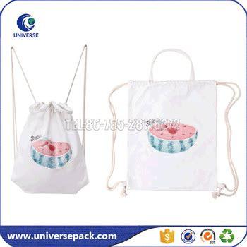 Canvas Drawstring Printed Backpack printed canvas drawstring tote sports bag backpack buy