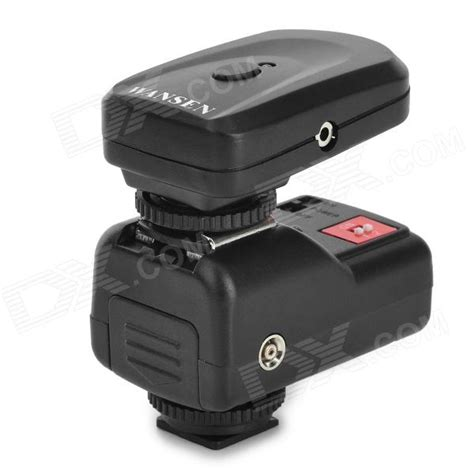Rajawali Trigger Pt 04gy For Yongnuo Canon Nikon Godox Flash wansen pt 04gy universal 433mhz wireless 4 ch flash trigger set for canon nikon more black