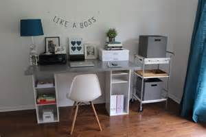 Ikea Diy Desk Ikea Hack Desk Diy For 60