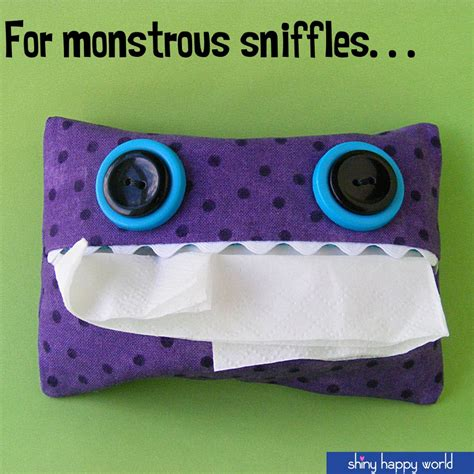 tissue holder pattern free free pattern tissue pack for monstrous sniffles shiny