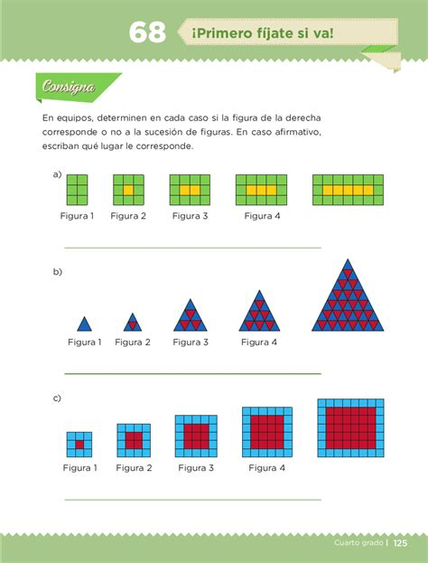 libro de matematicas 4 grado bloqe cuarto pag 125 cuarto desaf 237 os matem 225 ticos 4 bloque iv 161 primero