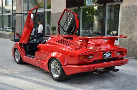 Lamborghini Countach 1990 by 1990 Lamborghini Countach Stock Gc Chris50 For Sale Near