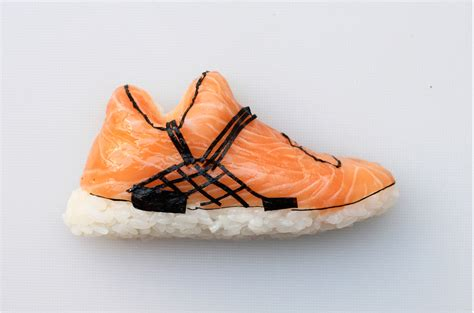 the shoe the of shoe shi shoe shaped sushi creators