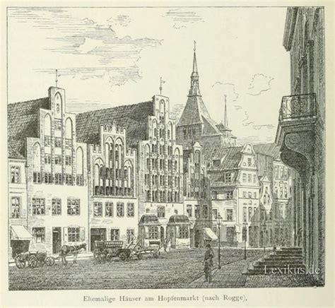 Am Hopfenmarkt Rostock by Rostock Hanse Und Hafenstadt Lexikus