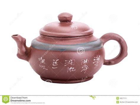 China Handmade - ceramic handmade teapot royalty free stock