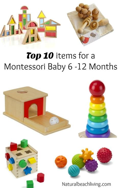 gifts for 7 months to 12 months top ten items for a montessori baby 6 months to 1 year living