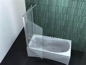 duschwand auf badewanne intrexo 75 80 x 140 cm badewannen faltwand duschwand