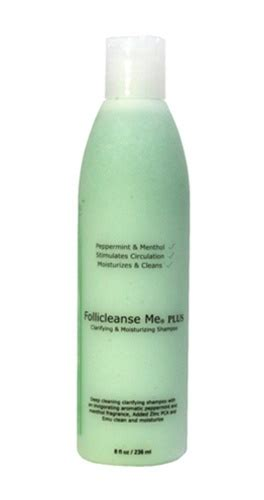 Scalp Detox With Peppermint by Follicleanse Me Plus Shoo With Peppermint Menthol