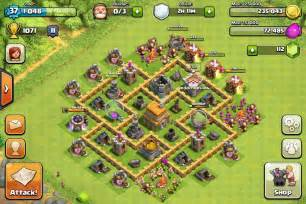 Clash Of Clans Defense Strategy Townhall Level 5 Trophy Base » Ideas Home Design