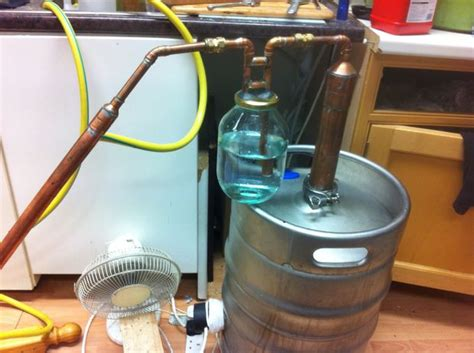 Build A Keg Still For Whiskey Pot Still Design 12