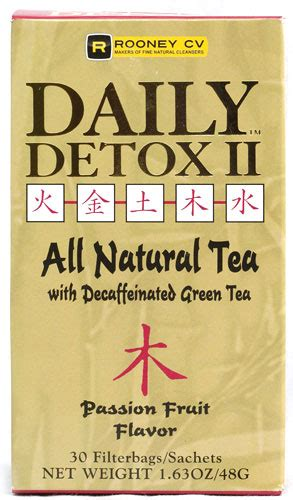 Daily Detox All Tea by Wellements Rooney Cv Daily Detox Ii All