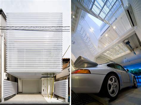 porsche home garage kenji yanagawa organizes home in osaka around porsche 911