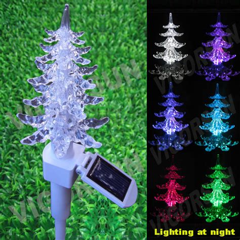 china solar christmas tree garden light vs 80171w