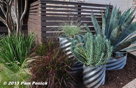 Culvert Pipe Planters by Water Saving No Lawn Garden Of Cyndi Kohfield