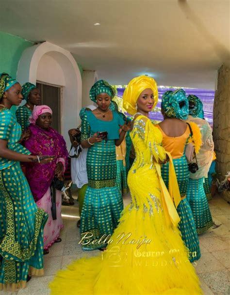 Gw161h Gw Pajamas Green Yellow Moslem aisha mustapha muslim wedding sondrea 2016