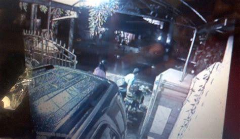 Cctv Rumah Medan aksi pencurian sepeda motor di medan terekam cctv