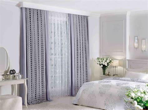 Bedroom Curtain Ideas Large Windows Home Attractive