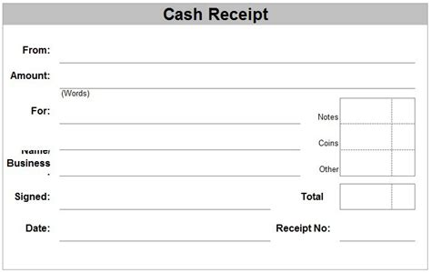 Summer C Receipt Template by 6 Free Receipt Templates Excel Pdf Formats