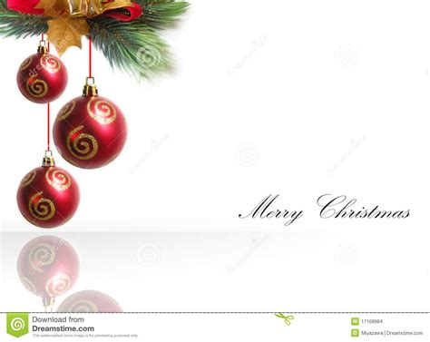christmas ornament border stock images image 17108984