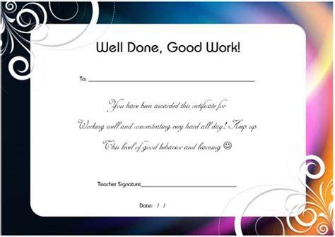 thankyou    hard work certificate certificate