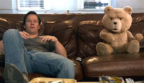 couch potato movie ted 2 2015 red band movie trailer mark wahlberg helps